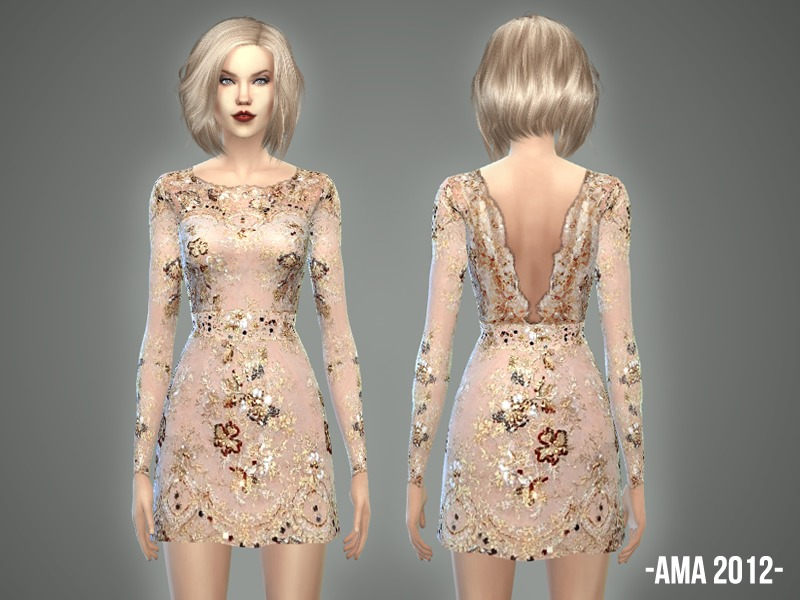 Taylor Swift's AMA dress  BY -April-