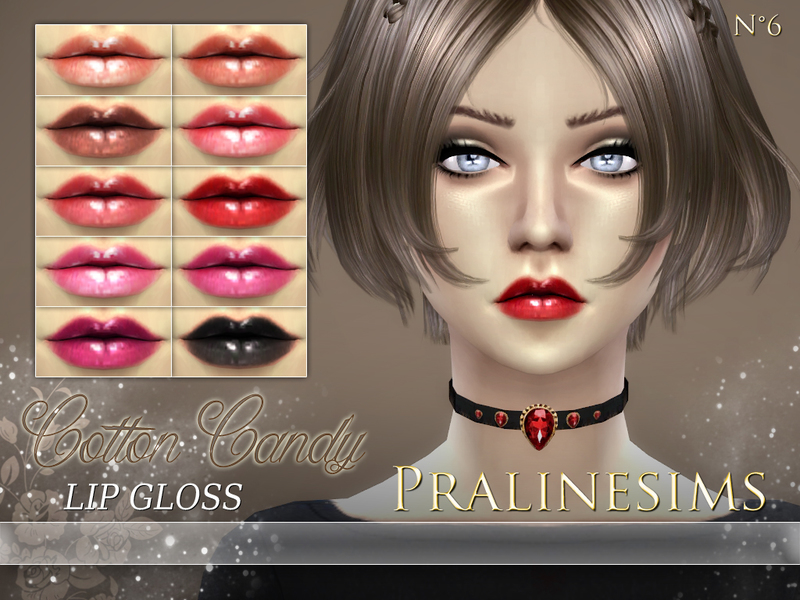 Cotton Candy Lip Gloss BY Pralinesims