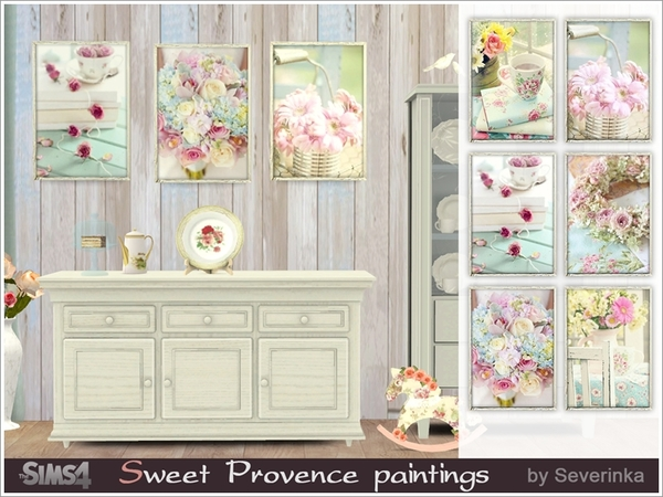 Sweet Provence paintings by Severinka