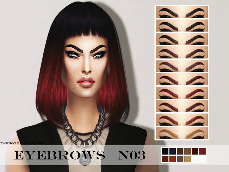 FRS Eyebrows N03 by FashionRoyaltySims