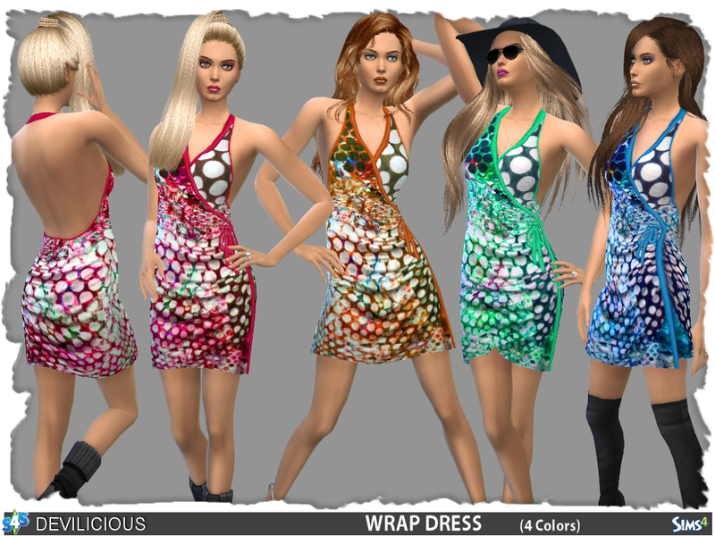 Wrap Dress BY Devilicious