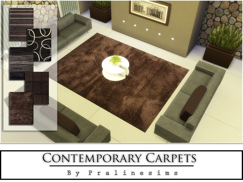 Contemporary Carpets BY Pralinesims