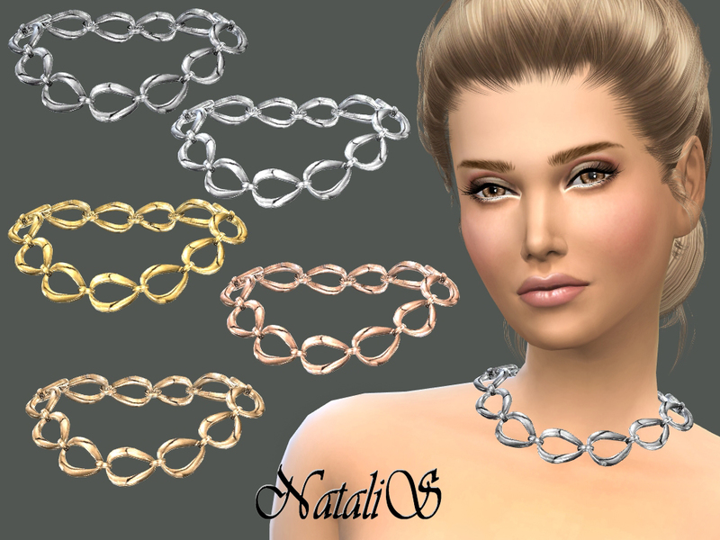 NataliS_Metal chain necklace