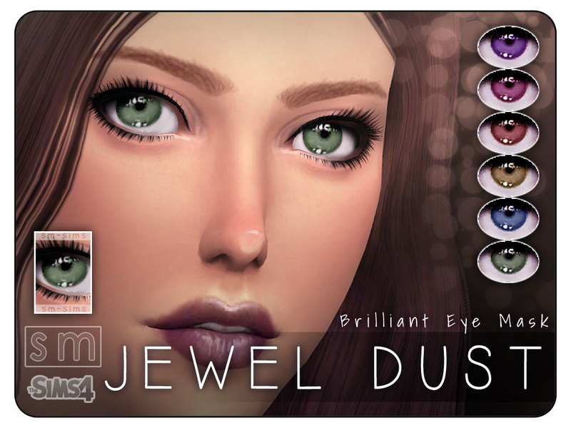 [ Jewel Dust ] - Brilliant Eye Mask BY Screaming Mustard