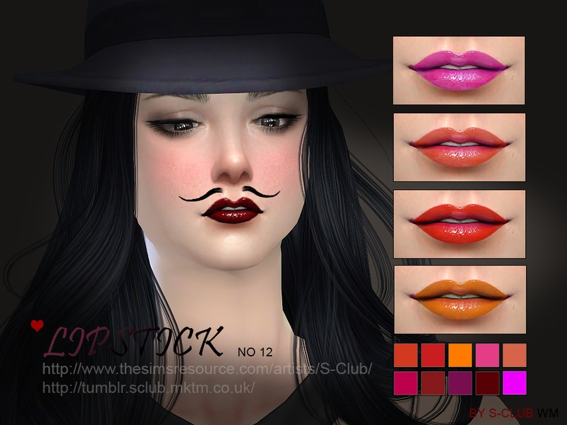 S-Club WM ts4 Lipstick 12