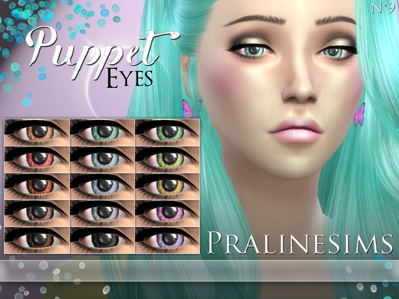 Puppet Eyes BY Pralinesims