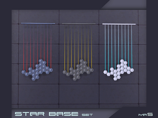 Star Base set by Soloriya