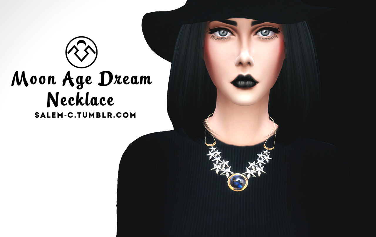 Moon Age Dream Necklace by Salem2342