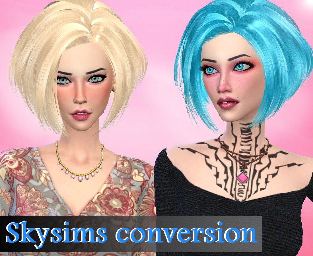 Skysims conversion hair by Genius
