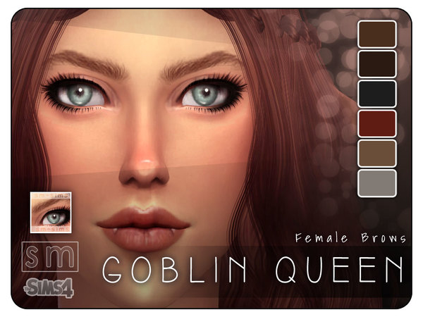 [ Goblin Queen ] - Realistic Brows by Screaming Mustard