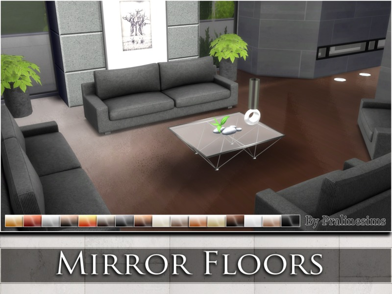 Mirror Floors by Pralinesims