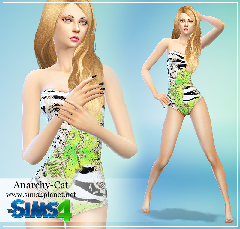 Set swimsuits by Anarchy-Cat