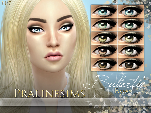 Butterfly Eyes by Pralinesims
