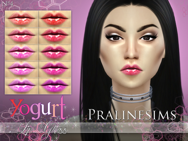 Yogurt Lip Gloss BY Pralinesims