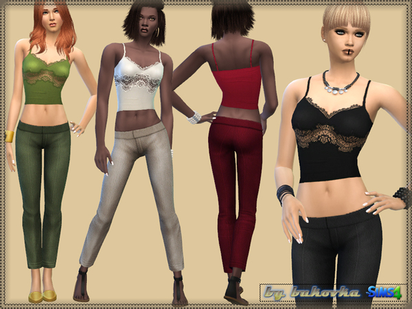 Set of Pants & T_shirt by bukovka