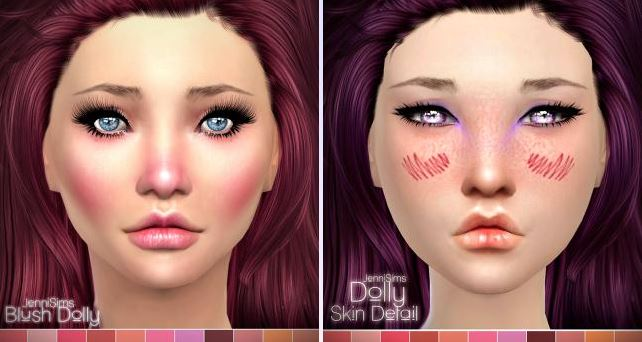 Makeup Blush Dolly by Jennisims