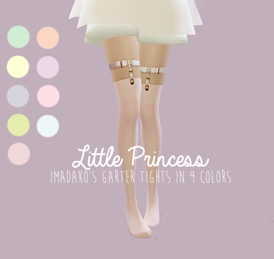 Imadako Garter Tights in 9 Recolors by EgosAndLies