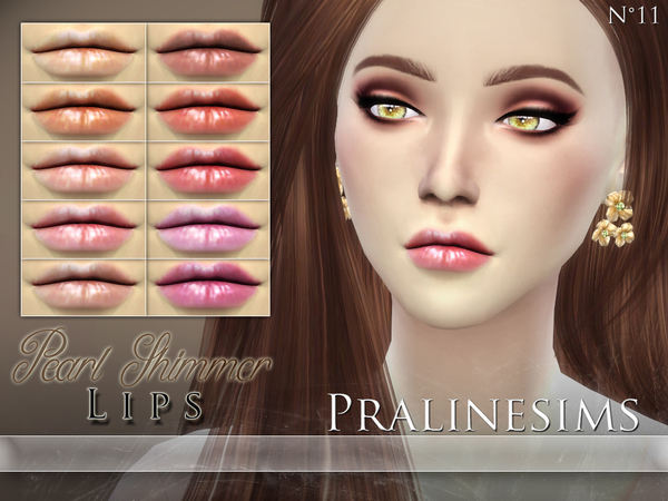 Pearl Shimmer Lip Duo by Pralinesims