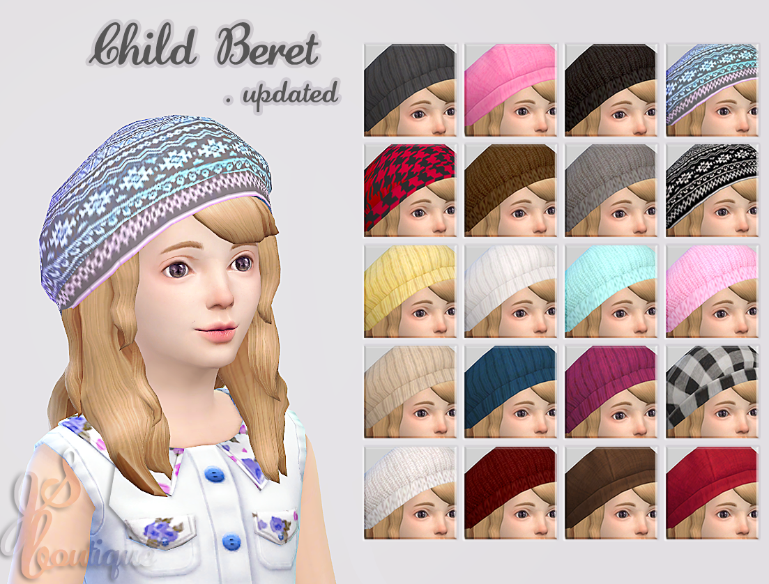 Child Berets by jsboutique