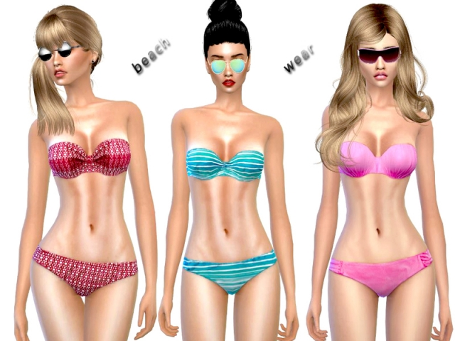 Beachwear Bikini Collection от cutesims
