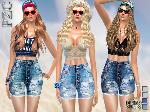 Ripped High Waisted Denim by Pinkzombiecupcakes