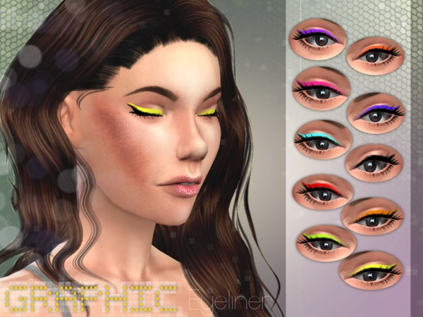 Graphic Eyeliner by Stefan0412