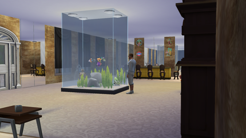Huge Fish Tank by stevens