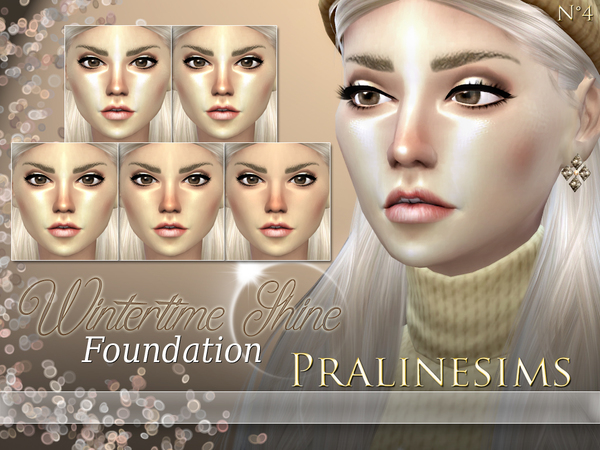 Summertime & Wintertime Foundation Duo by Pralinesims