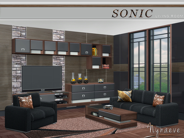 Sonic Living Room by NynaeveDesign