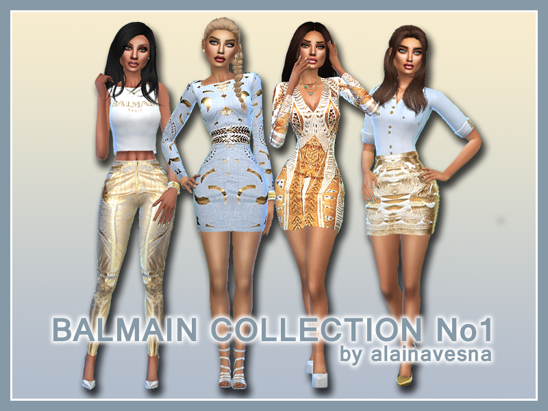 Balmain Collection No1 by AlainaVesna