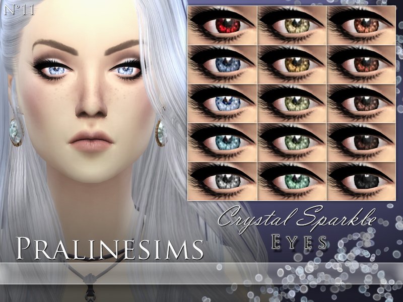 Crystal Sparkle Eyes BY Pralinesims