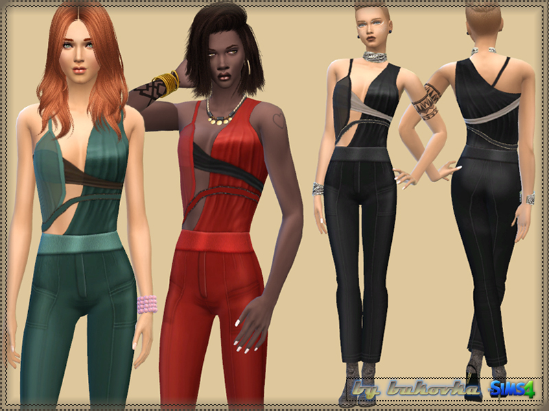 Jumpsuit Asymmetry  BY bukovka