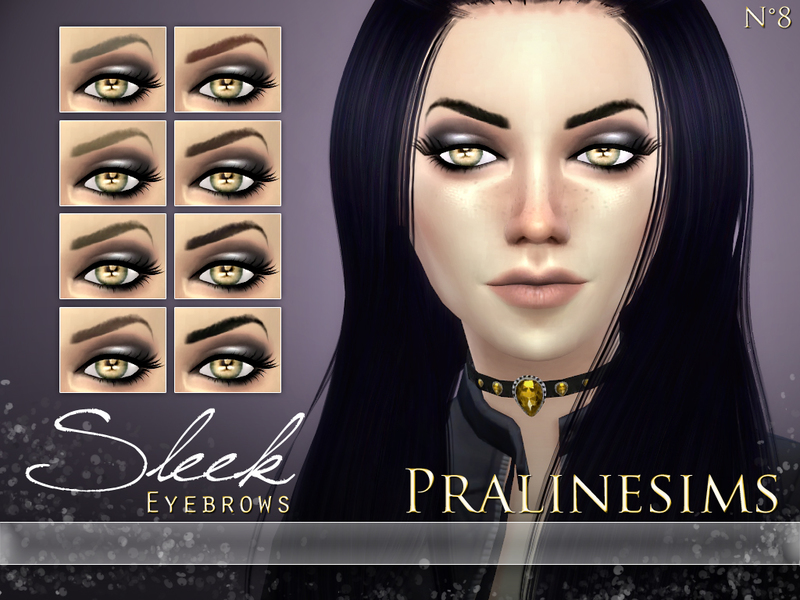 Sleek Eyebrows  BY Pralinesims