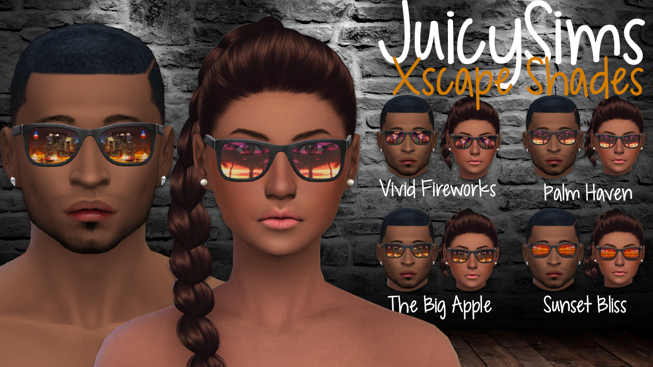Xscape Shades by juicysims