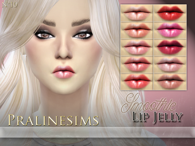 Smoothie Lip Jelly Duo  BY Pralinesims
