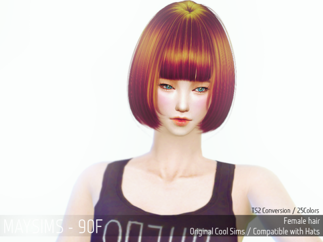Hair 90 Female от MaySims