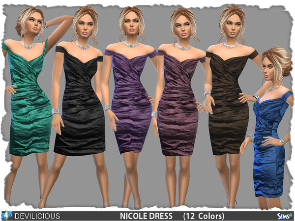 Dress Nicole (12 Colors) by Devilicious