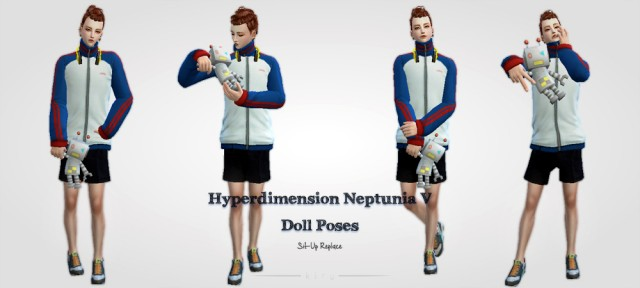 Hyperdimension Neptunia V Poses-1 (for Unisex) by kiru