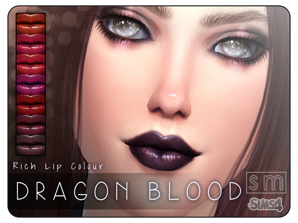[ Dragon Blood ] - Rich Lip Colour by Screaming Mustard