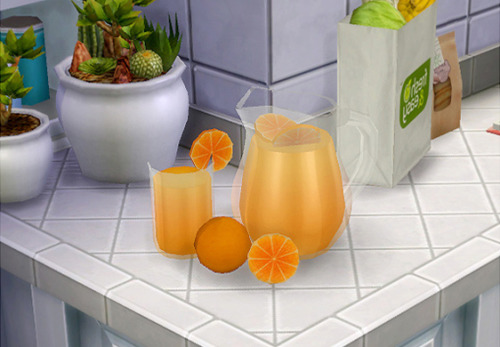 TS3 Orange Juice Conversion by BlackCatPhoenix