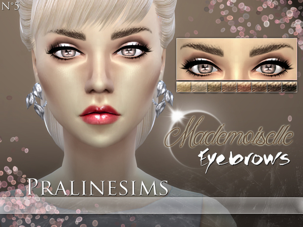 Mademoiselle Eyebrows by Pralinesims