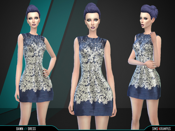 Dawn Dress by SIms4Krampus
