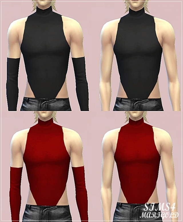 Male sexy sleeveless top от Marigold