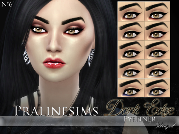 Dark Edge Eyeliner Duo by Pralinesims