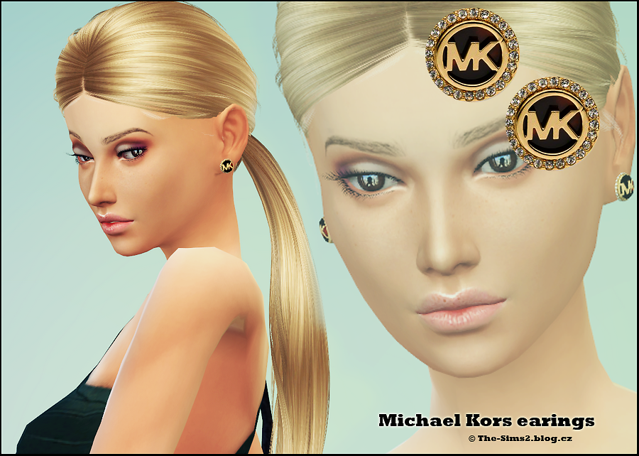 Michael Kors earings от Mrs.Faraday
