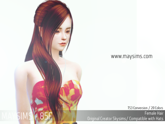 Hair 85 Female от MaySims