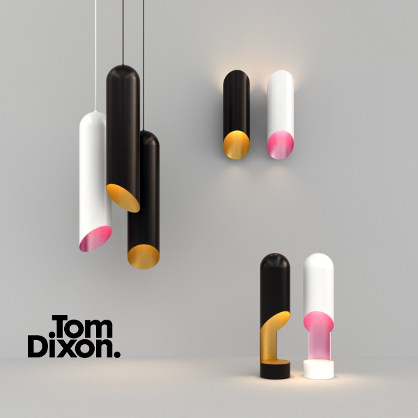 Tom Dixon Pipe Lights by Meinkatz Creations