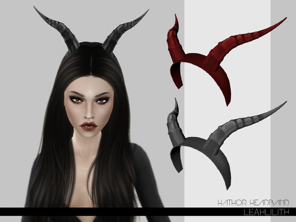 LeahLilith Hathor Headband by Leah Lillith