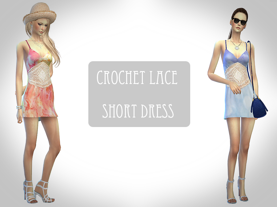 Crochet lace dress от Chiissims