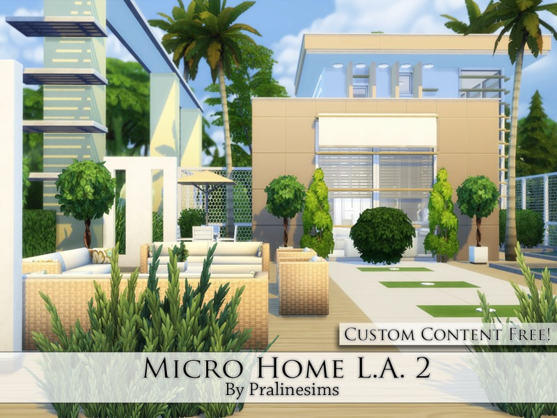 Micro Home L.A. 2  BY Pralinesims